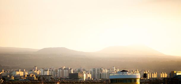 Sunrise on Jeju Island, South Korea - gettyimageskorea