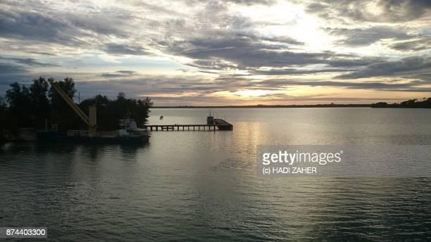 Sunrise on Manus island
