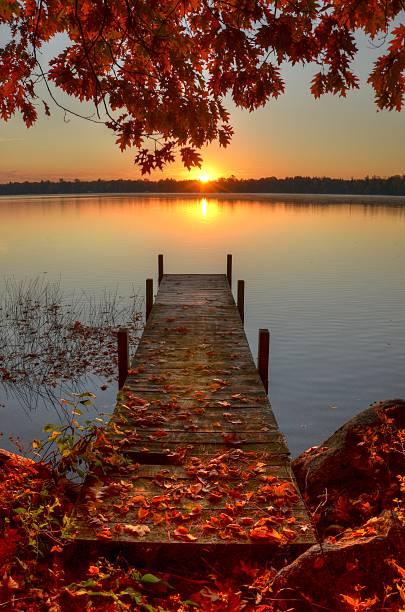 Sunrise on Pelican Lake