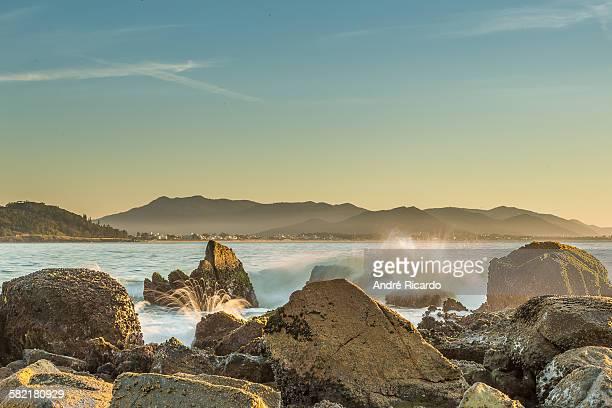 Sunrise on the beach Armação
