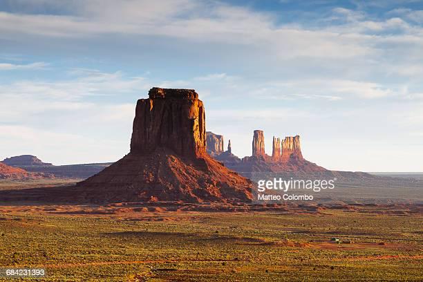 Sunrise on the Monument Valley, Arizona, USA