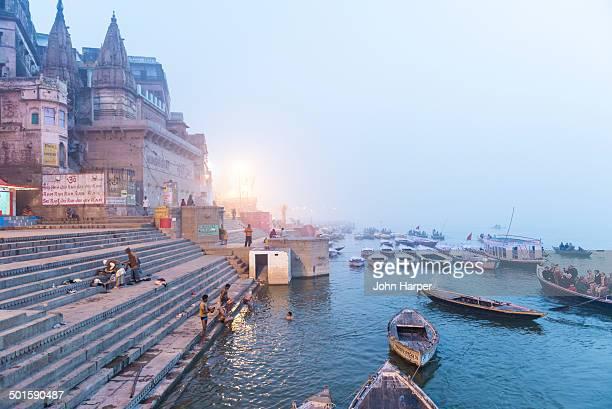 Sunrise on the River Ganges, Varanasi, India
