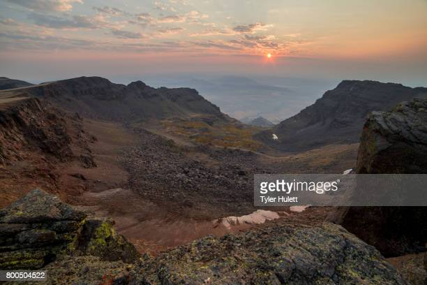 Sunrise on the Summit of Steens Mountain