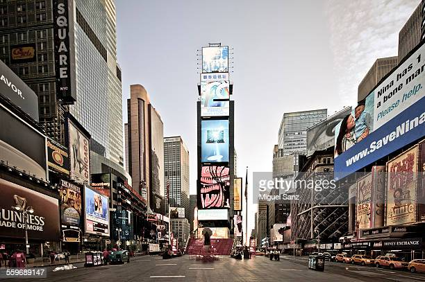 Sunrise on Times Square, New York City, USA