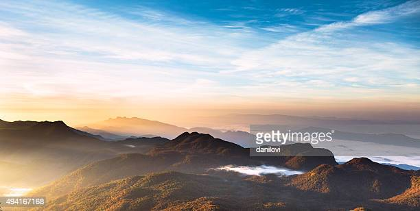 Sunrise over Adam's peak, Sri Lanka