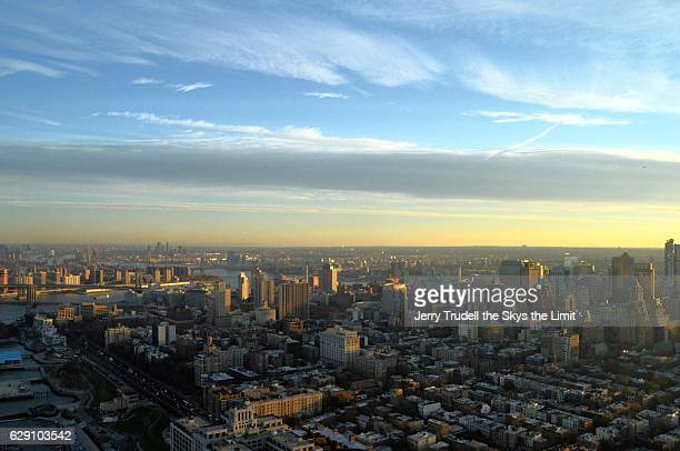 sunrise over brooklyn new york - barclays center brooklyn stock pictures, royalty-free photos & images