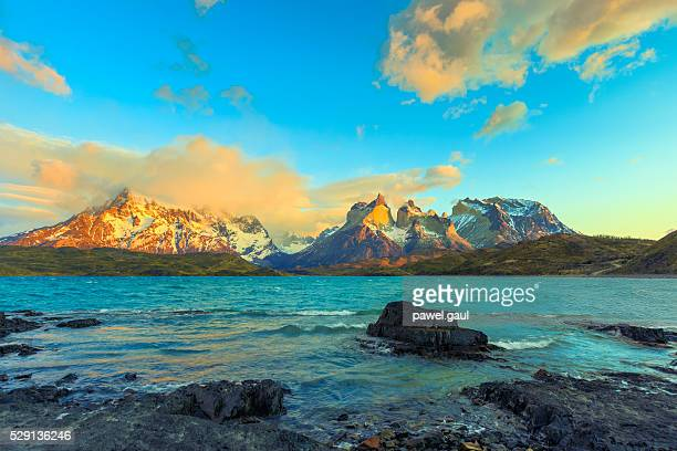 Sunrise over Cuernos del Paine– Patagonia, Chile