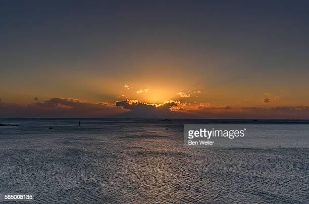 Sunrise over East Sea