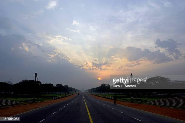 Sunrise over India Gate