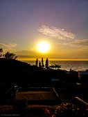 blythedale beach southafrica sun rises over