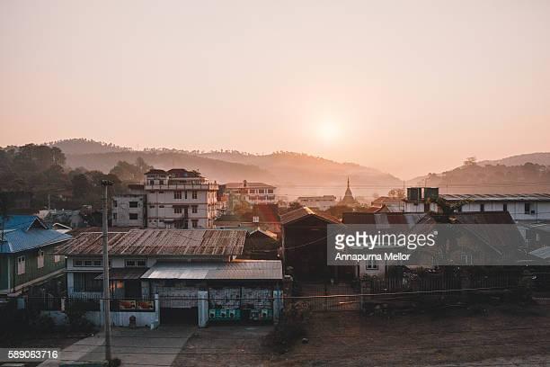 Sunrise over Kalaw, Shan State, Myanmar (Burma)