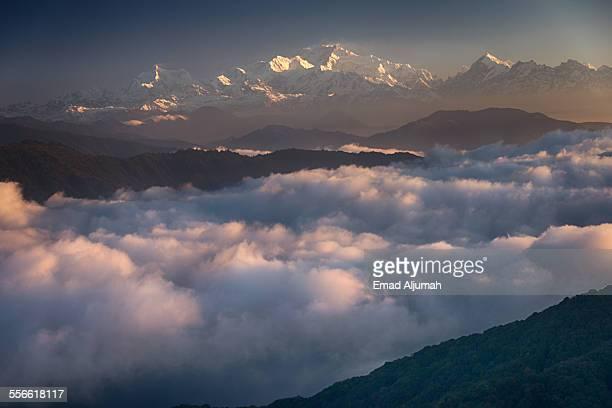 Sunrise over Kanchenjunga, Sandakphu, Darjeeling