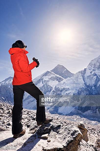 Sunrise over Mount Everest, Himalaya, Nepal