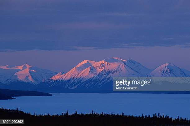 sunrise over mountains - sirulnikoff stock photos and pictures