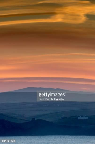 Sunrise over North Cornwall