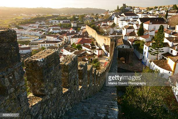 Sunrise over Obidos