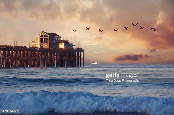 Sunrise Over Oceanside Pier