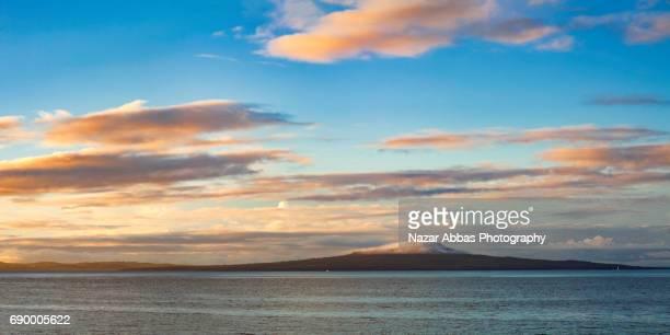 Sunrise Over Rangitoto Island.
