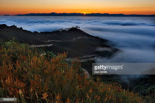 sunrise over santa clara valley - don smith stock pictures, royalty-free photos & images