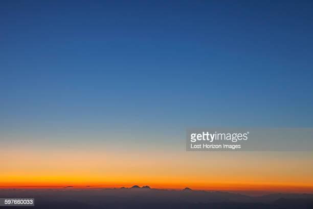 Sunrise over the Alps, Zermatt, Canton Wallis, Switzerland