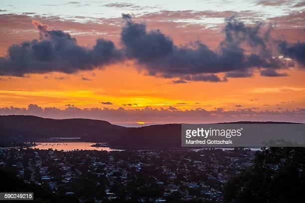 Sunrise over the Bouddi Peninsula