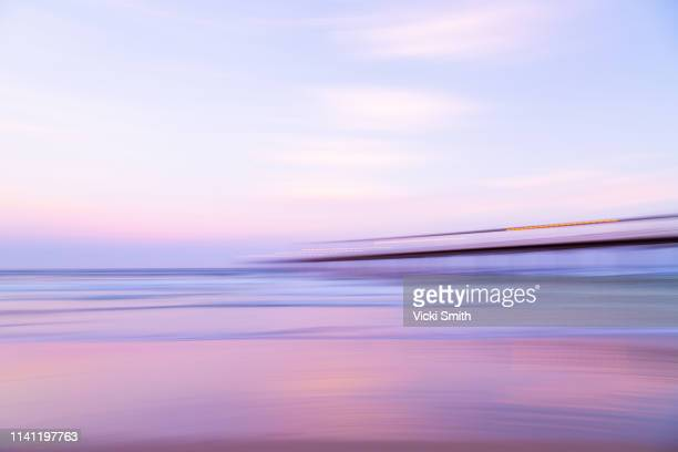 sunrise over the jetty - jetty stock pictures, royalty-free photos & images
