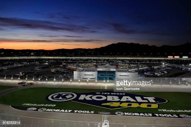 Sunrise over the Las Vegas Motor Speedway in Las Vegas NV