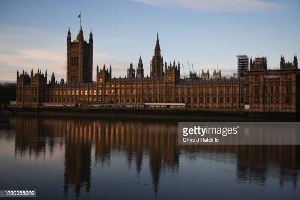 Sunrise over the Palace of Westminster on December 30, 2020 in London, England. The United Kingdom and the European Union agreed a Trade and...