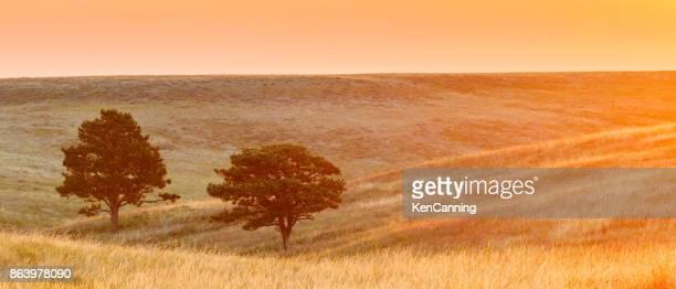 Sunrise Over The Prairie in South Dakota