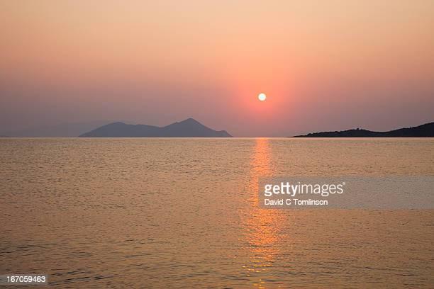 Sunrise over the sea, Frikes, Ithaca, Greece