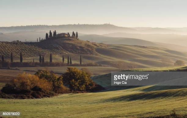 Sunrise over TuscanY