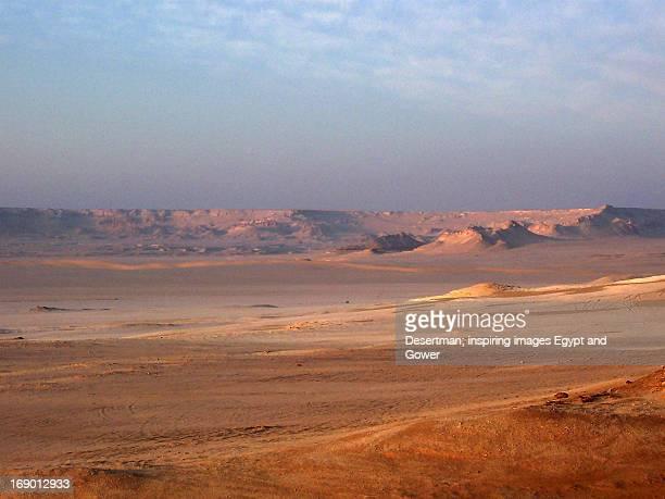 Sunrise over Wadi El-Rayan
