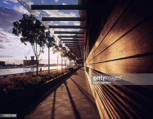 Sunrise over Yarra River, Docklands, Melbourne