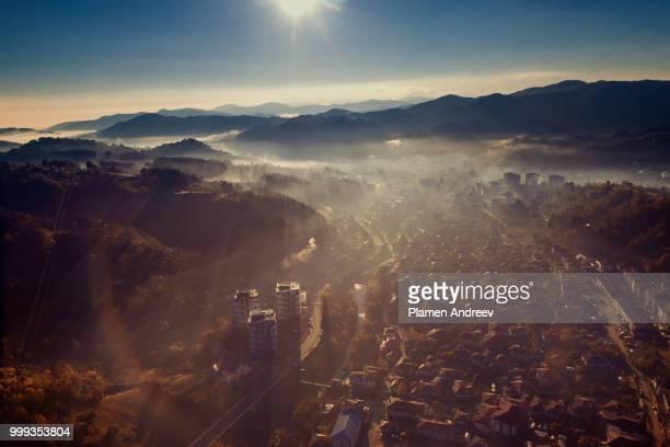 Sunrise over Zlatograd
