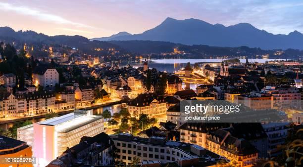 Sunrise, Overlook, Lucerne, Switzerland
