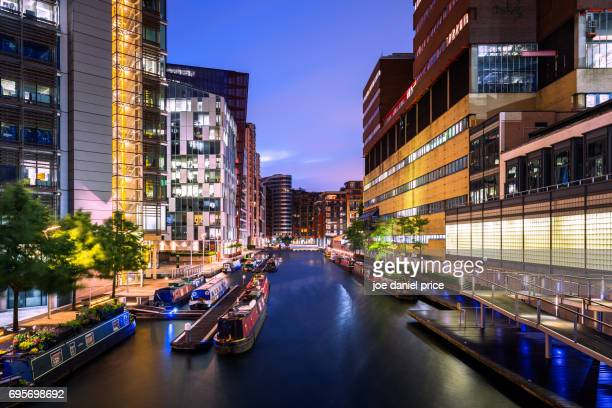 Sunrise, Paddington Basin, Paddington, London, England