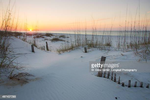 sunrise pastels - gulf shores alabama stock pictures, royalty-free photos & images
