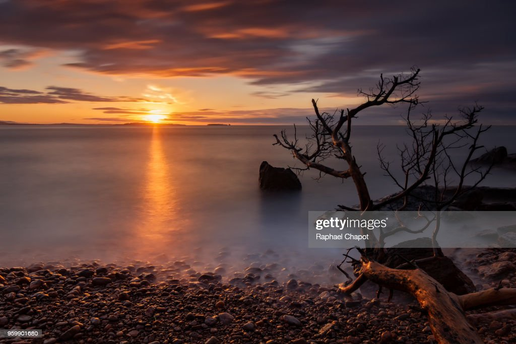 Sunrise photograph in the Esterel Massif, Provence-alpes-côte-d'azur, France : Stock-Foto