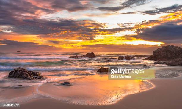 sunrise - port macquarie stock pictures, royalty-free photos & images