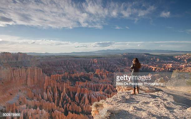 sunrise point, bryce - bryce canyon stock pictures, royalty-free photos & images