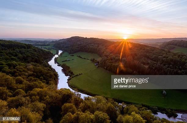 Sunrise, River Wye, Symonds Yat, Gloucestershire, England