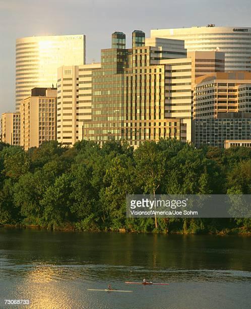 'Sunrise, Roslyn, Washington DC'