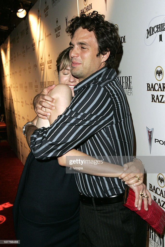 Sunrise Ruffalo and Mark Ruffalo during Premiere Magazine's 'The New Power' - Red Carpet at Forbidden City in Hollywood, California, United States.
