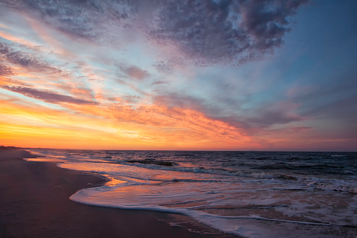 sunrise seascape at the Gulf of Mexico - gettyimageskorea