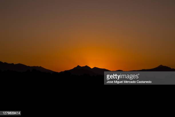 sunrise sierra - mexico stock pictures, royalty-free photos & images