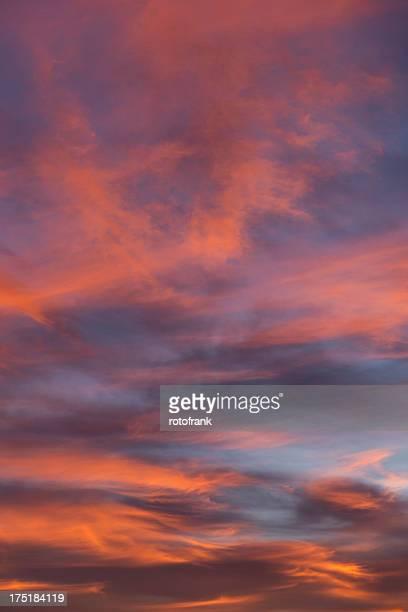 sunrise, sky only  (imagesize xxxl) - only men stockfoto's en -beelden