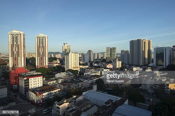 Sunrise skyline of Kuala Lumpur, Malaysia