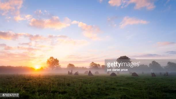Sunrise, Stone Circle, Icklesham, East Sussex, England