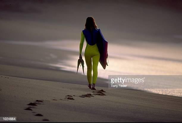 sunrise surfer