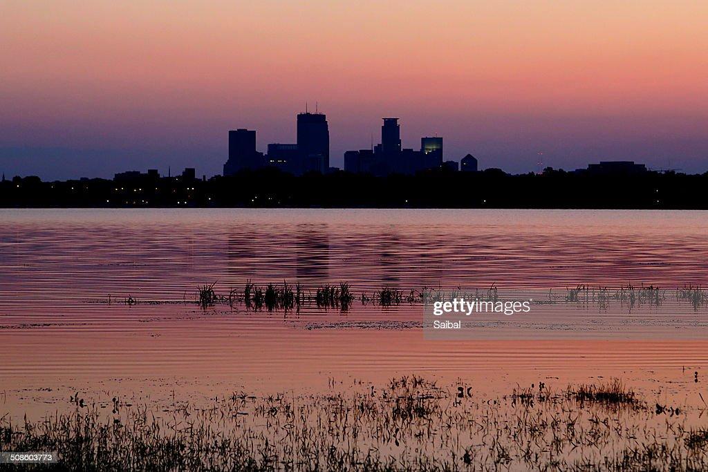 Sunrise twilight : Foto de stock